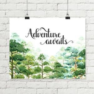 adventure awaits printable art