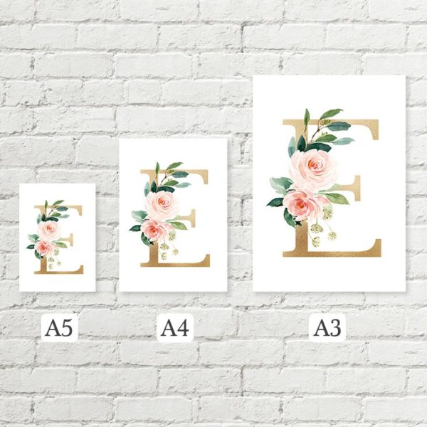 letter sizes A4 A3 A5