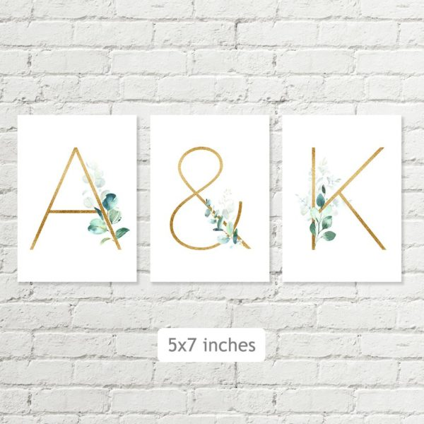 letters 5x7 printable