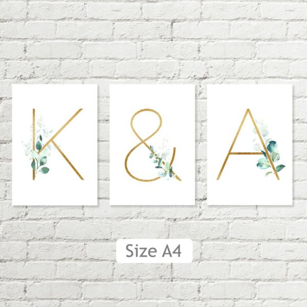letters size A4