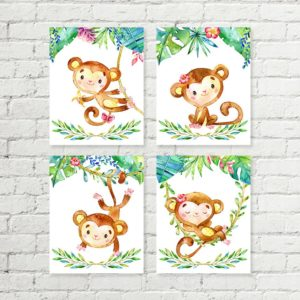 monkey printable art