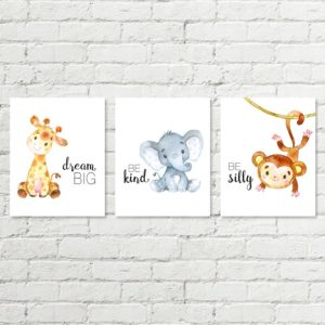 safari set printable art